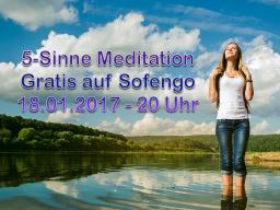 Webinar: Kurz-Meditation - 5 Sinne - Gratis