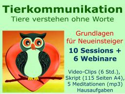 Webinar: Intuitive Tierkommunikation - Grundlagen für NEUEINSTEIGER