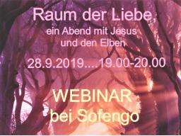 Webinar: Raum der Liebe,....mit Jesus und den Elben