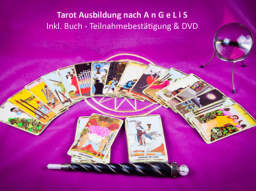Webinar: Tarot Ausbildung inklusive Buch - Teilnahmebestätigung & DVD
