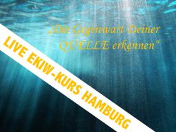 Webinar: Kurs-in-Wundern-Event: Die Gegenwart Deiner QUELLE erkennen. Live-Übertragung aus Hamburg