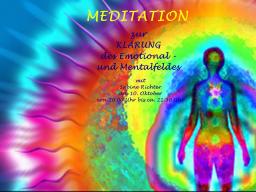 Webinar: Klärung des Emotional - und Mentalfeldes - Meditation mit Sabine Richter