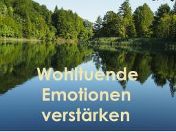 Webinar: Wie wir wohltuende Emotionen in uns verstärken können