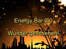 Webinar: Energy Bar 2.0 - Wunder geschehen!