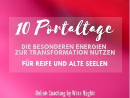 Webinar: Portaltage-Gruppe: 10 Portaltage [Mai 2021] für Reife und Alte Seelen