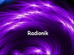 Webinar: Radionik; FITNESS und GESUNDHEIT
