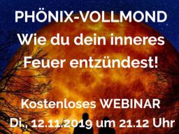 Webinar: PHÖNIX-VOLLMOND - Wie du dein inneres Feuer entzündest!