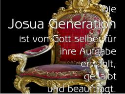 Webinar: WICHTIGE BOTSCHAFT AN DIE JOSHUA-GENERATION - IHRE SPIRITUELLE VORREITERROLLE OHNE ANGST ANNEHMEN