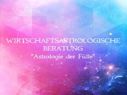 Webinar: WIRTSCHAFTSASTROLOGISCHE BERATUNG