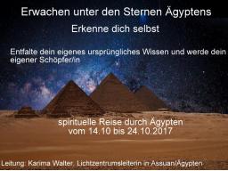 Webinar: Erwachen unter den Sternen Ägyptens