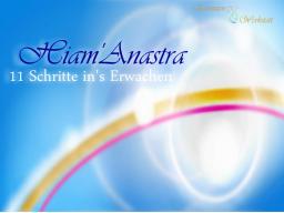 Webinar: Info-Webinar: Hiam'Anastra - 11 Schritte in dein Erwachen