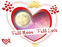 Webinar: VOLLMOND LESUNG . Hier beginnt deine LOVE-Story mit dir