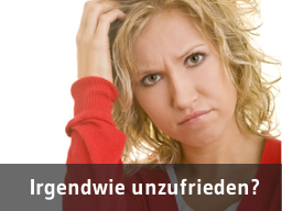"Webinar: ""Irgendwie unzufrieden? 4 Strategien was Du konkret dagegen tun kannst."""