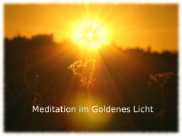 Webinar: Live Meditation im Goldenen Licht