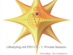 Webinar: 1. Private Session - Lifestyling mit PSY-I.T