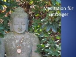 Webinar: Meditation für Einsteiger