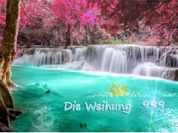 """Webinar: Die Weihung """"9 9 9"""""""