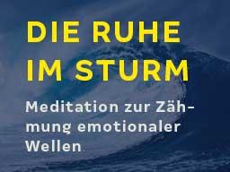 Webinar: Die Ruhe im Sturm (Meditation): Emotionale Wellen zähmen