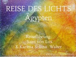 """Webinar: REISE DES LICHTS """"ÄGYPTEN"""""""