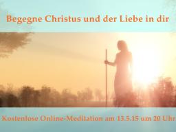 Webinar: Christusmeditation mit Georg Huber