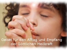 Webinar: Einzelsitzung - Segensgebet - Erfülle Dein Herz mit dem Heilstrom der Liebe